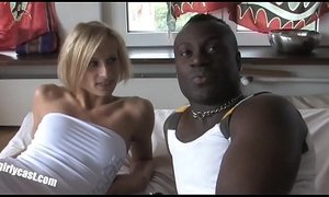 First BBC (Big Black Cock) for the adorable Nadine