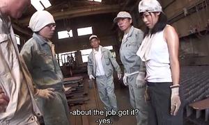 Metal workers spiralling to bed a sex understood slut