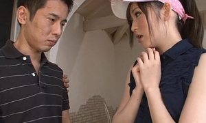 Golfing virging procurement solitary about bang a sexy Eastern slut