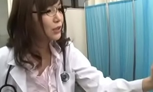 [name please] School Doctor Cures Fever With Blowjob