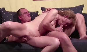 German Acquisitive Mature Seduce to Fuck by Neighbour When alone