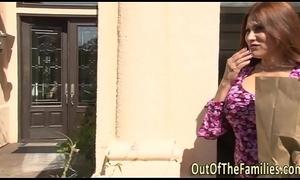 Undiluted stepmom receives ejaculation