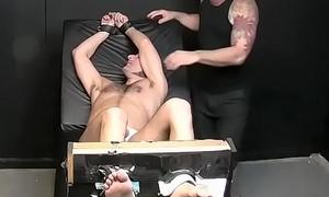 Modest stud goes flick through crazy tickle afflict