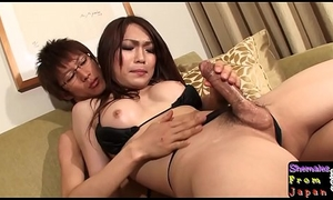 Bigtitted asian ghetto-blaster drills penurious botheration