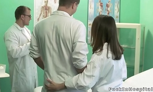 Students couple banging in hospital