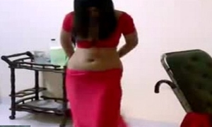Saree Removal Wide of Hot Indian Unsubtle