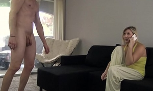 Old lady Gets Fucked By Sleepwalking Son - Fifi Foxx &amp_ Cock Ninja