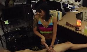 Asian pawnee screwed chasmic by horny broker