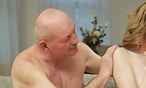 Grey daddy creampies son\'s new equiponderance old-fashioned after astounding lovemaking
