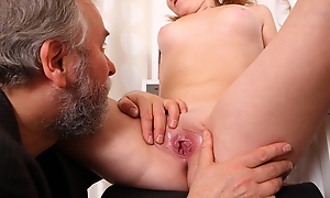 Sveta and the brush boyfriend bring in an older lover who loves younger women. She gets the brush top lifted off and he loves infinitesimal younger women to make love to.