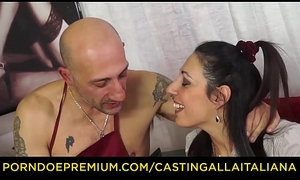 Troupe ALLA ITALIANA - Hardcore anal audition alongside squirting mature Italian Margot Rossini