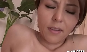 Horny young mama gets fingered and teased nearly fake penis
