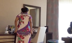 indian wife kajol in hotel agile nude move for husband